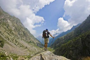 On the Trail to the Rifugio Soria-Ellena