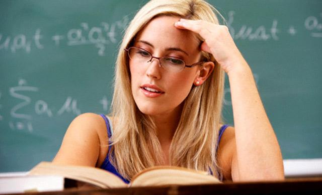 образованная женщина